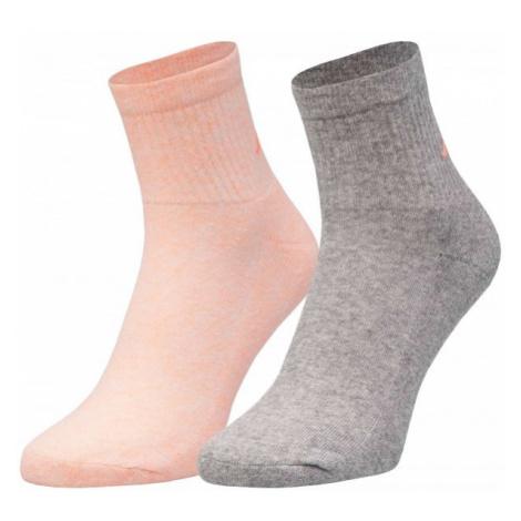 Kappa ZORAZ 2PACK sivá - Dámske ponožky