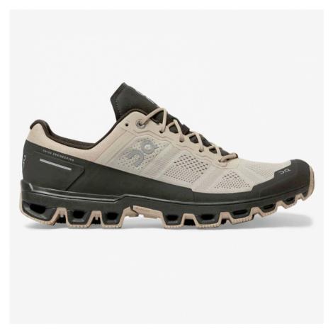 Pánska bežecká obuv On Running Cloudventure čierno - béžová