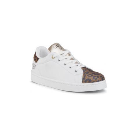 Guess Sneakersy Lucy FJ7LUC ELE12 Biela