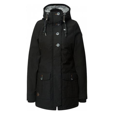 Ragwear Prechodný kabát  čierna