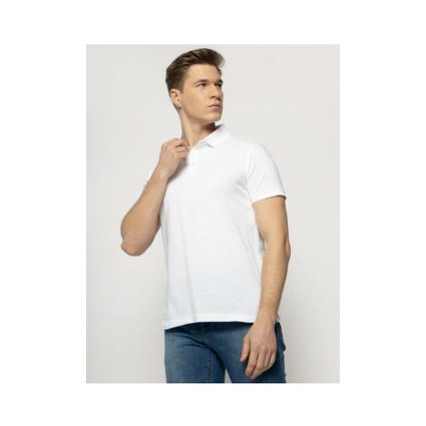 Trussardi Jeans Polokošeľa 52T00349 Biela Regular Fit