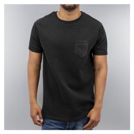 Just Rhyse Quilted T-Shirt Black - Veľkosť:S