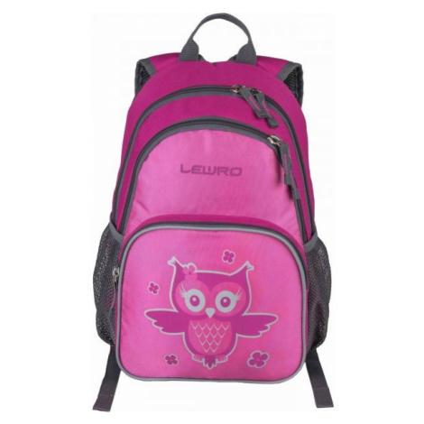 Lewro SCOUT ružová - Univerzálny detský batoh