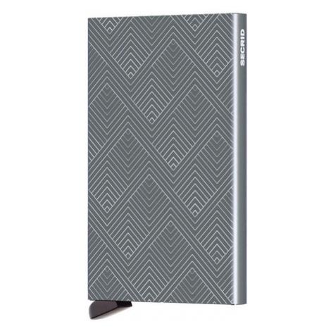 Secrid Cardprotector Structure Titanium-One size šedé C-Structured-Titanium-One size
