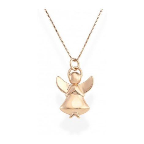 Amen Originálne strieborný náhrdelník Angels A1R (retiazka, prívesok)