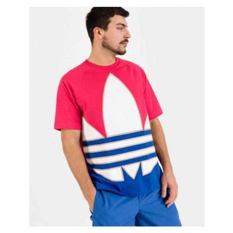 adidas Originals Big Trefoil Colorblock Tričko Červená