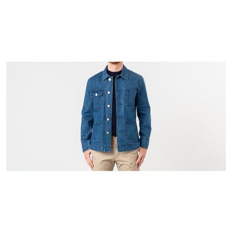 MAISON KITSUNÉ Denim Worker Jacket Bleach