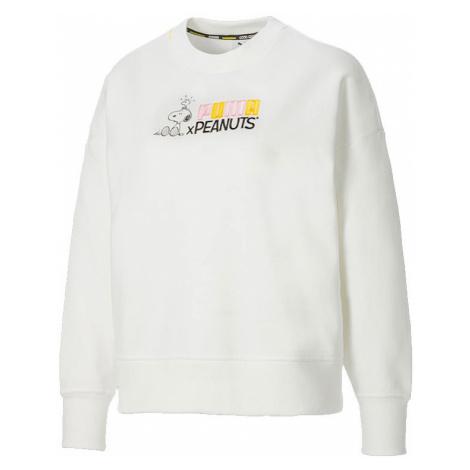 Puma x Peanuts W Crew Neck Sweatshirt-M biele 531159_02-M