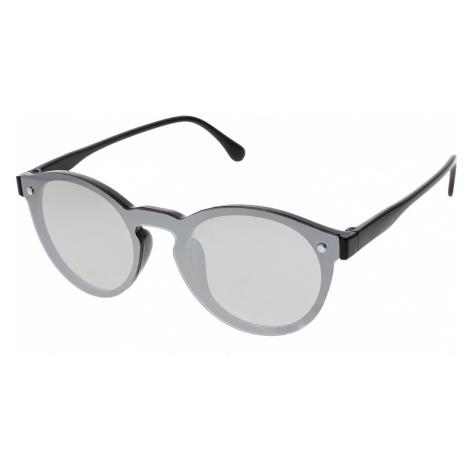 Slnečné okuliare Fully čierne rámy strieborné sklá