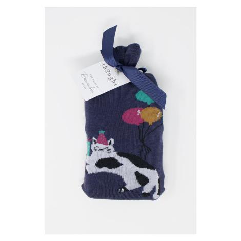 Viacfarebné ponožky Lora Bamboo Party Cat Socks in a Bag - dvojbalenie