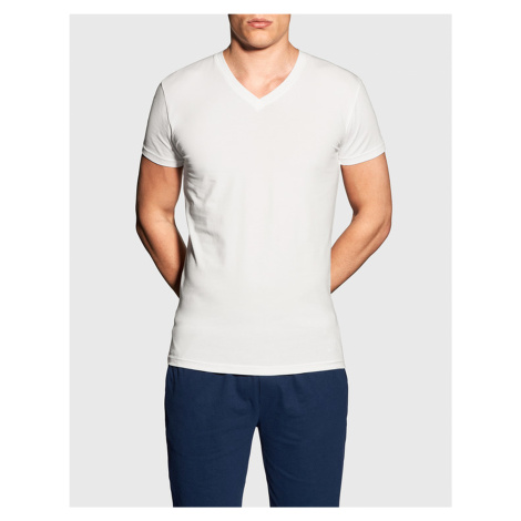Pánske tričko Gant V neck biele (901911988-110)