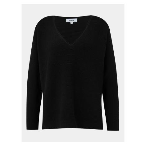 Čierny basic sveter ONLY Hero