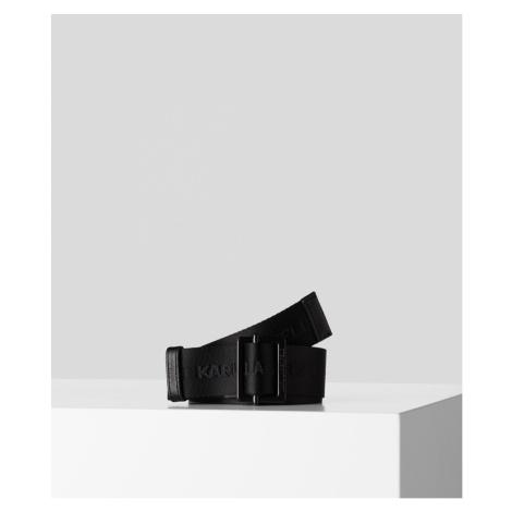 Opasok Karl Lagerfeld Karl Logo Webbing Belt