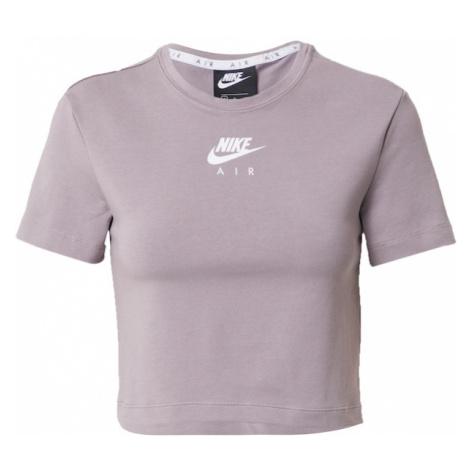 Nike Sportswear Tričko  biela / svetlofialová