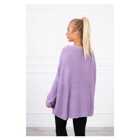 Sweater Oversize purple