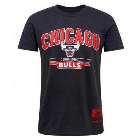 Mitchell & Ness Tričko 'CHICAGO BULLS'  čierna / biela / červená
