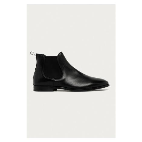Aldo - Kožené topánky Chelsea