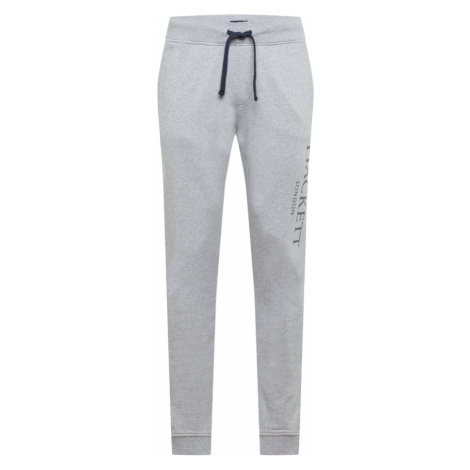 Hackett London Nohavice  sivá / čierna