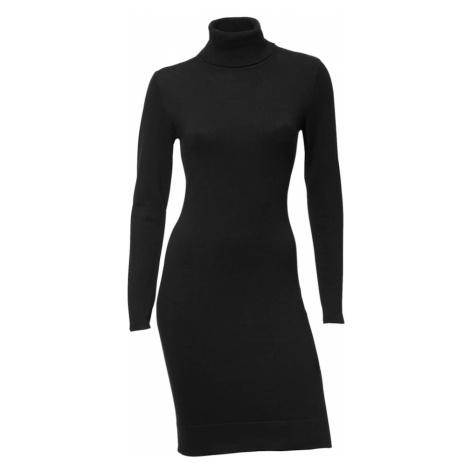 heine Pletené šaty  čierna