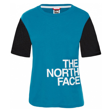 The North Face W Light Ss Tee Crystal Teal-XS modré T93RYL8EE-XS