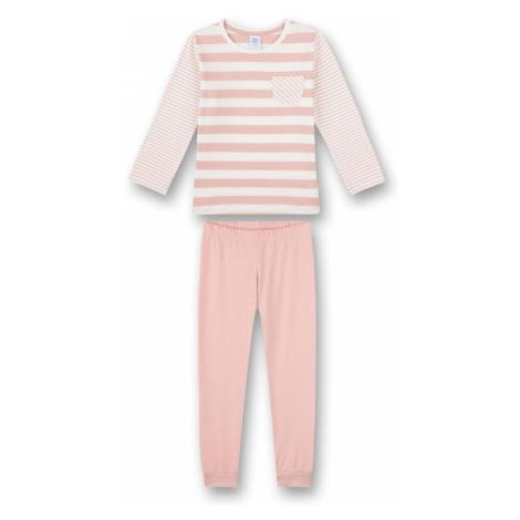 SANETTA Pyžamo  biela / pastelovo ružová