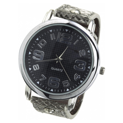 heine Analógové hodinky  sivá / čierna