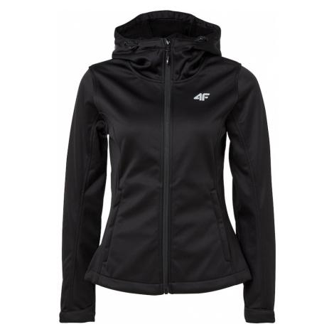 4F Outdoorová bunda  čierna
