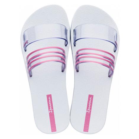 Ipanema Dámske šľapky New Fem 26301-21784 White/Clear/Pink