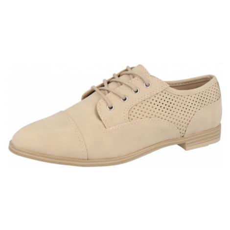 CALL IT SPRING Šnurovacie topánky 'KATIIE'  béžová
