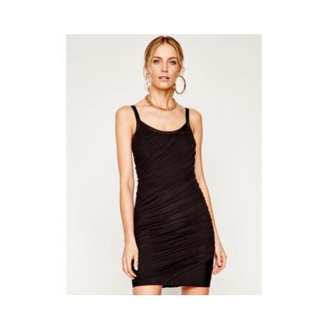 Marciano Guess Koktejlové šaty Milla 0GG739 5036Z Čierna Slim Fit