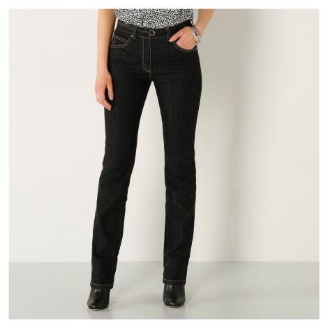 Blancheporte Rovné džínsy, vyššia postava čierna