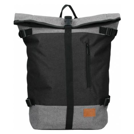 Veľký trendy batoh New Rebels Marco - čierno-šedá