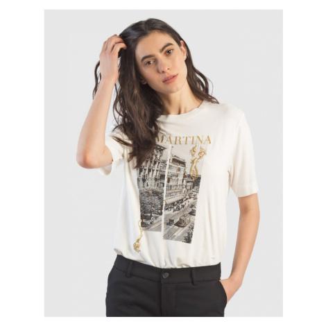 Tričko La Martina Woman T-Shirt Viscose Jersey