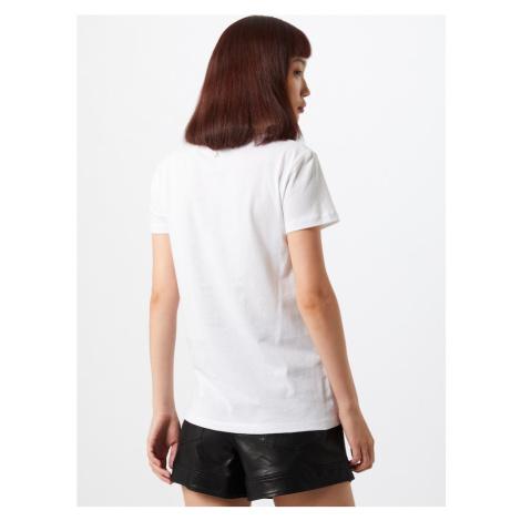 PATRIZIA PEPE Tričko 'MAGLIA'  biela / čierna / sivá / hnedá