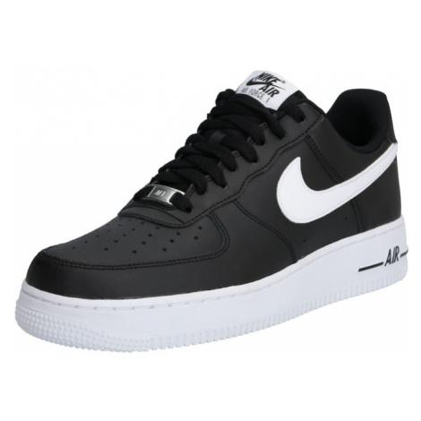 Nike Sportswear Nízke tenisky 'Air Force'  biela / čierna