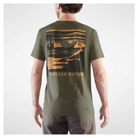 Zelené tričko Torneträsk T-shirt Fjällräven