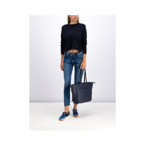 Pepe Jeans Sveter Celia PL701500 Čierna Regular Fit