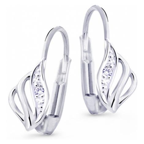 Cutie Diamonds Luxusné náušnice z bieleho zlata s briliantmi DZ8024-55-00-X-2 Cutie Jewellery