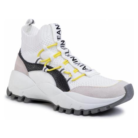 Sneakersy CALVIN KLEIN JEANS - Timotea B4R0881  White/Black