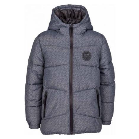 Lewro PAULI tmavo šedá - Chlapčenská prešívaná bunda