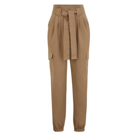Y.A.S Tall Plisované nohavice 'CAIA'  svetlohnedá