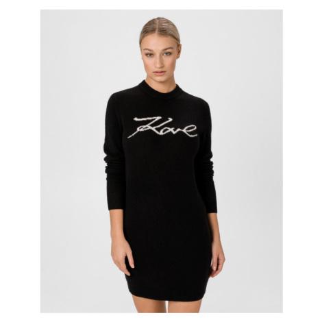Karl Lagerfeld Šaty Čierna