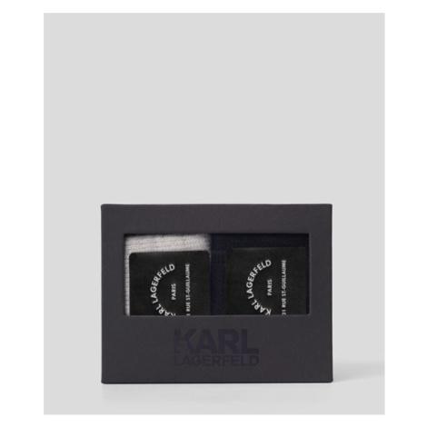 Ponožky Karl Lagerfeld Lounge Cashmere Blend Sock 2