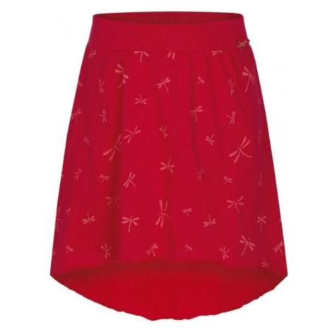 Loap BRENTINA červená - Dievčenská sukňa