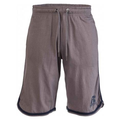 Russell Athletic LONG SHORTS hnedá - Pánske šortky