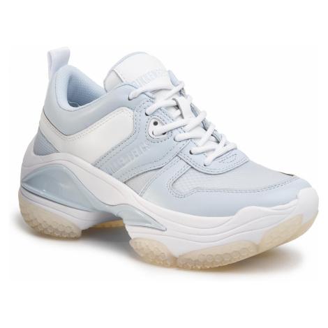 Sneakersy BIKKEMBERGS - Pascaline B4BKW0092 Baby Blue/White
