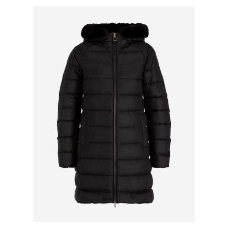 Kabát Geox W Blenda Čierna