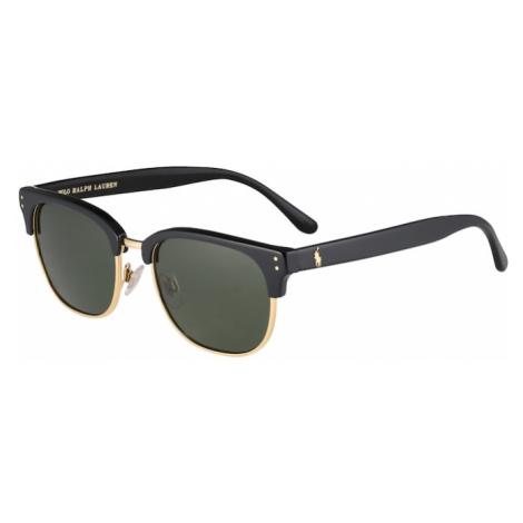 POLO RALPH LAUREN Slnečné okuliare  zlatá / čierna