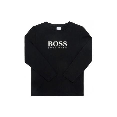 Boss Blúzka J25G86 S Čierna Regular Fit Hugo Boss
