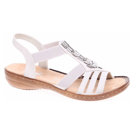 Dámské sandály Rieker 60800-80 weiss 60800-80